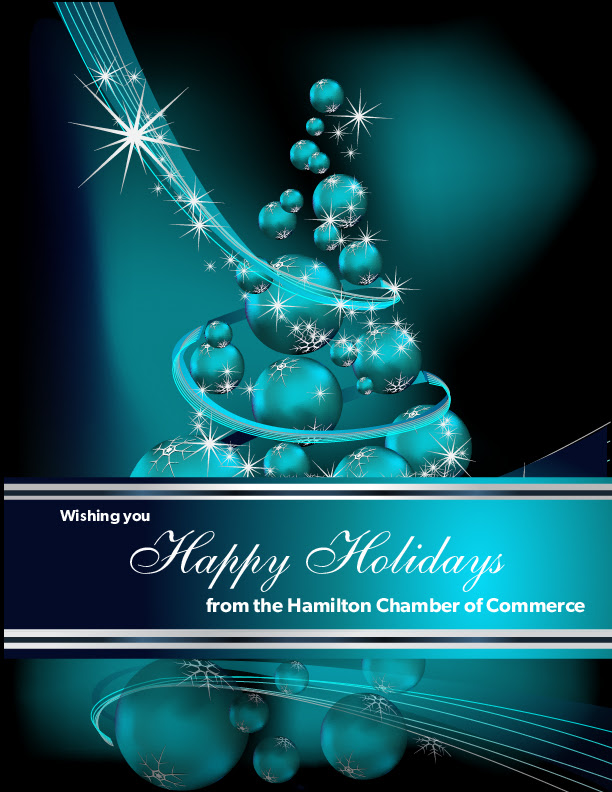 Hamilton Chamber of Commerce Holiday Greeting