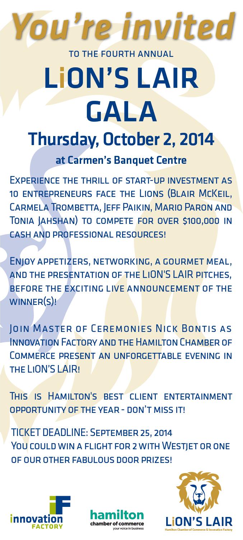 Lion's Lair Invite 2014