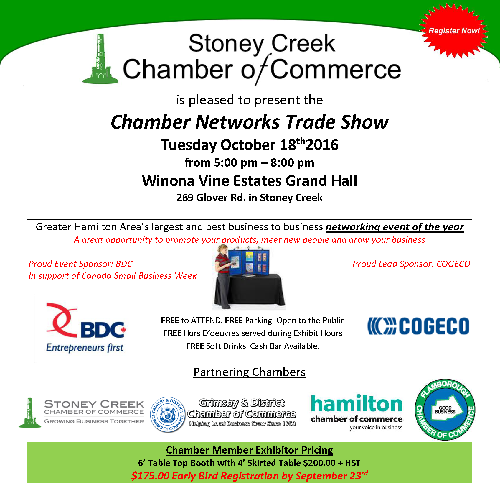 Chamber Networks Trade Show